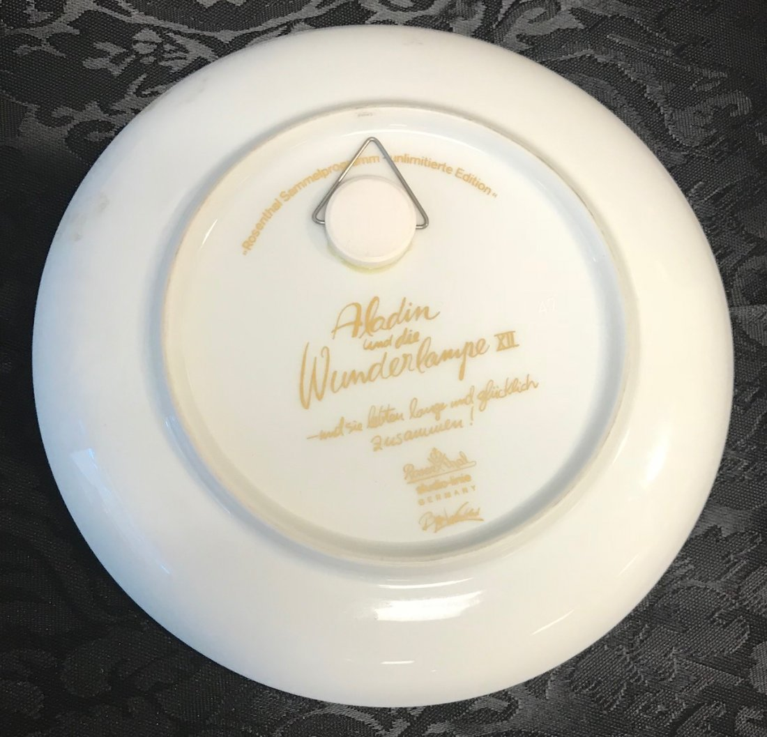 "Rosenthal ""Studio-Linie"" Aladin Plate - 2"
