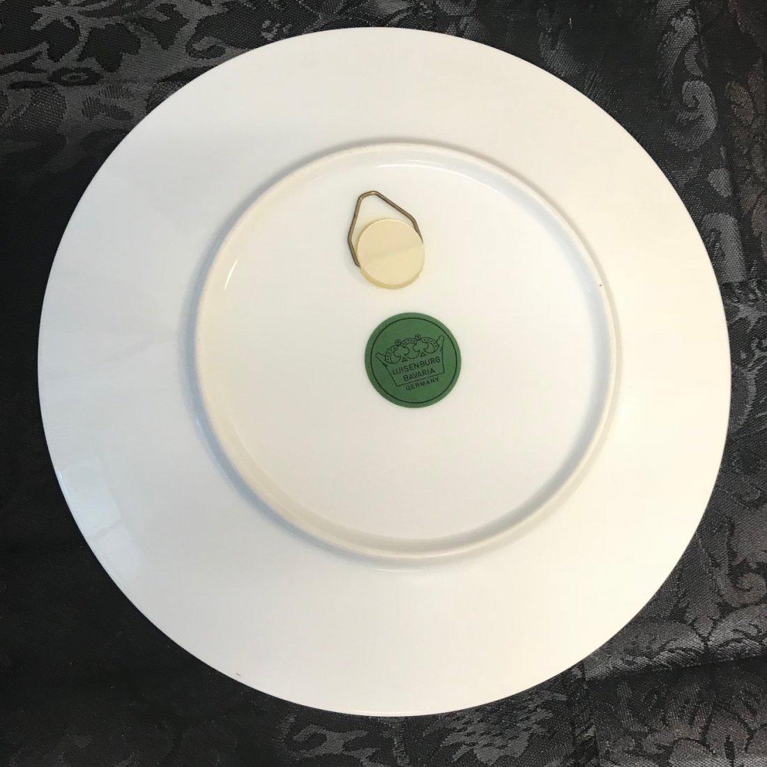 Bavarian Luisenberg Renaissance decorated plate - 2