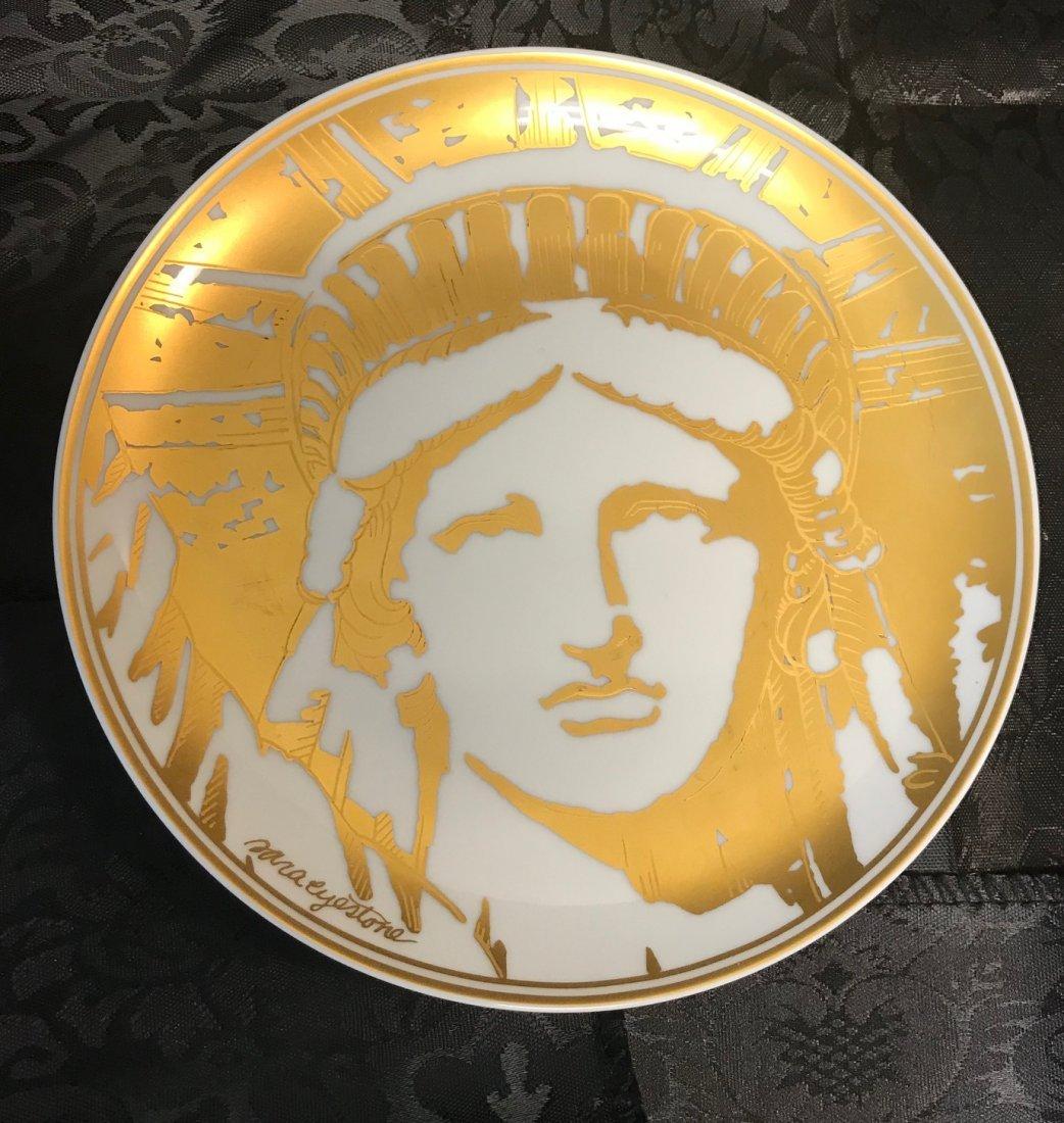 Heinrich Villeroy & Boch Liberty 1886-1986 plate design