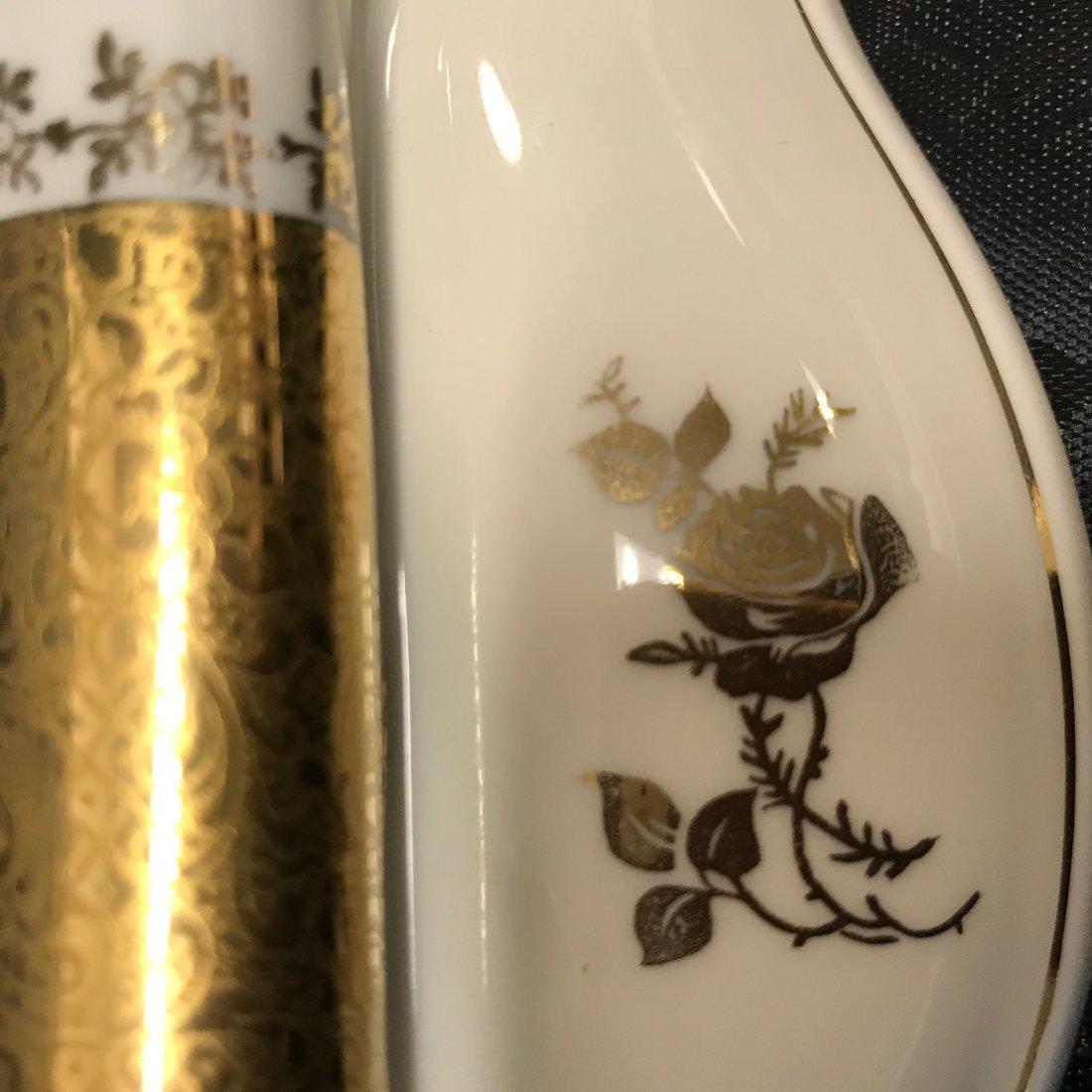 Kunst Kronbach Bavaria guilted porcelain barbell style - 3