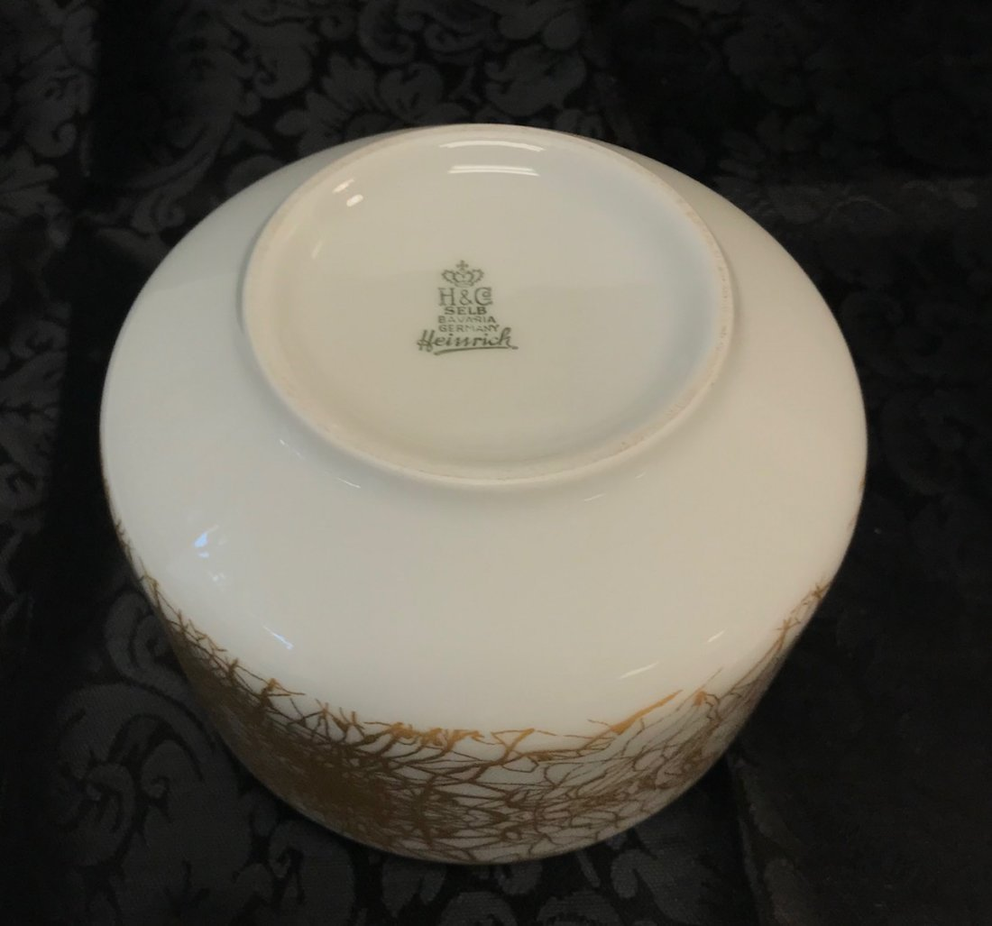 "H&G Selb stamped ""Heinrich"" sugar dish numbered 1789 - 2"