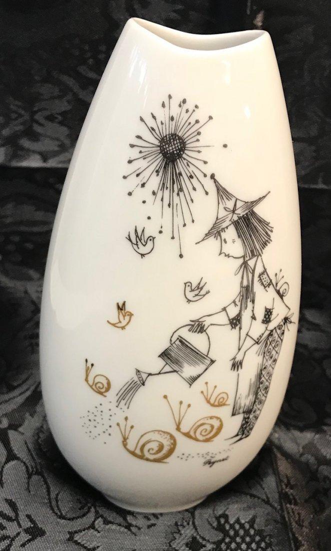 "Reymond Peynet Rosenthal ""Studio-Linie"" Vase"