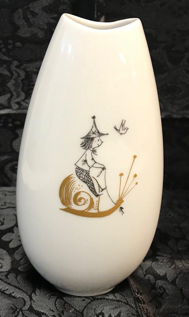 "Reymond Peynet Rosenthal ""Studio-Linie"" Vase - 2"