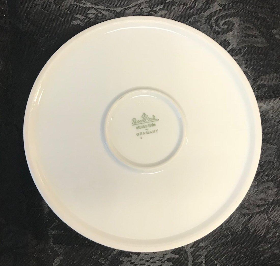 Rosenthal floral gilt plate - 2