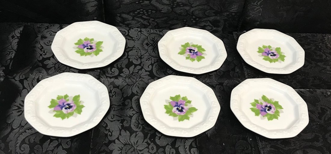 """Rosenthal """"Classic Rose Collection"""" Saucers"""