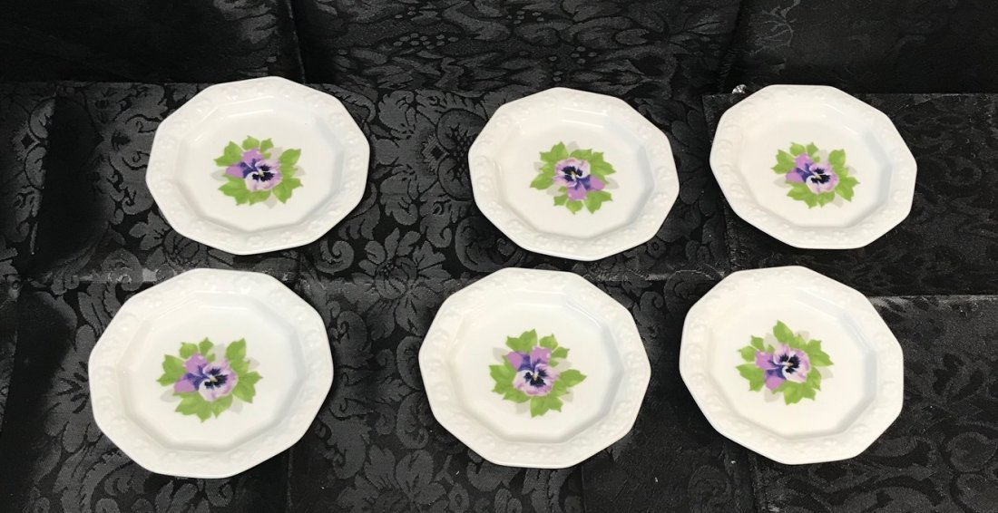 """Rosenthal """"Classic Rose Collection"""" Saucers - 3"""