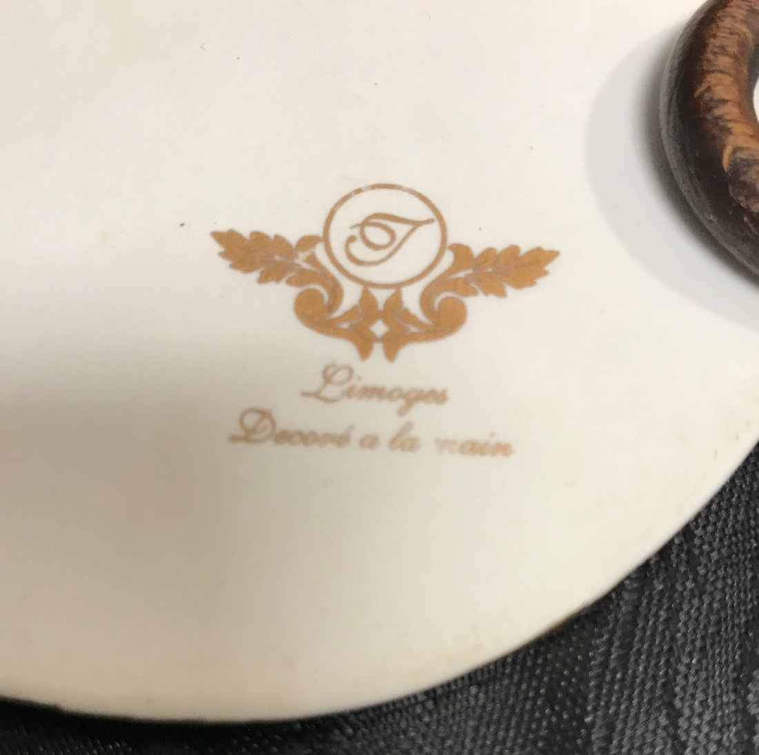 3 Limoges  oval plaques - 7
