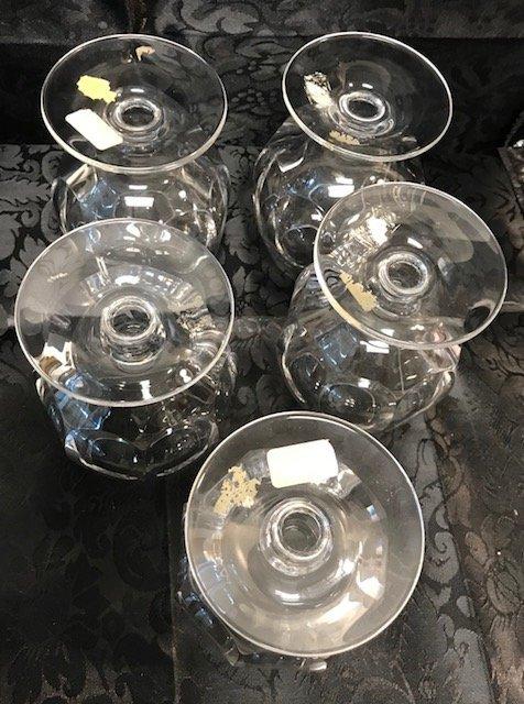 Joska Bleikristall lead crystal 5 Cognac sniffs - 3