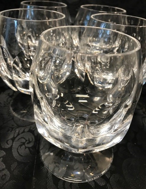 Joska Bleikristall lead crystal 5 Cognac sniffs - 4