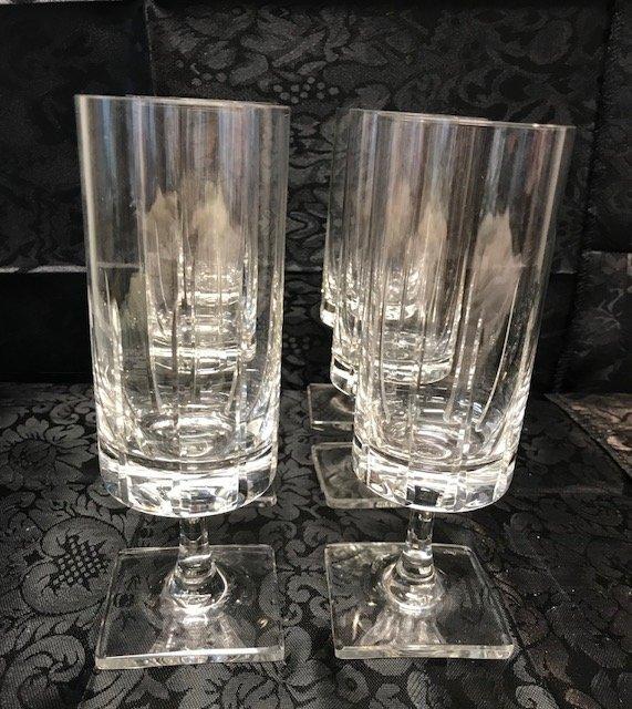 6 BLEIKRISTALL  lead crystal drinking glasses - 3