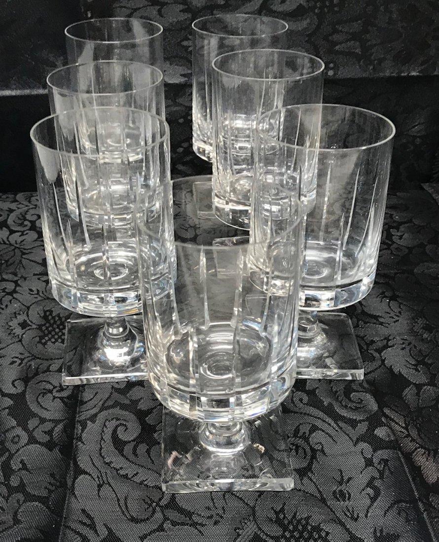 7 Bavaria lead crystal  Sherry Glasses