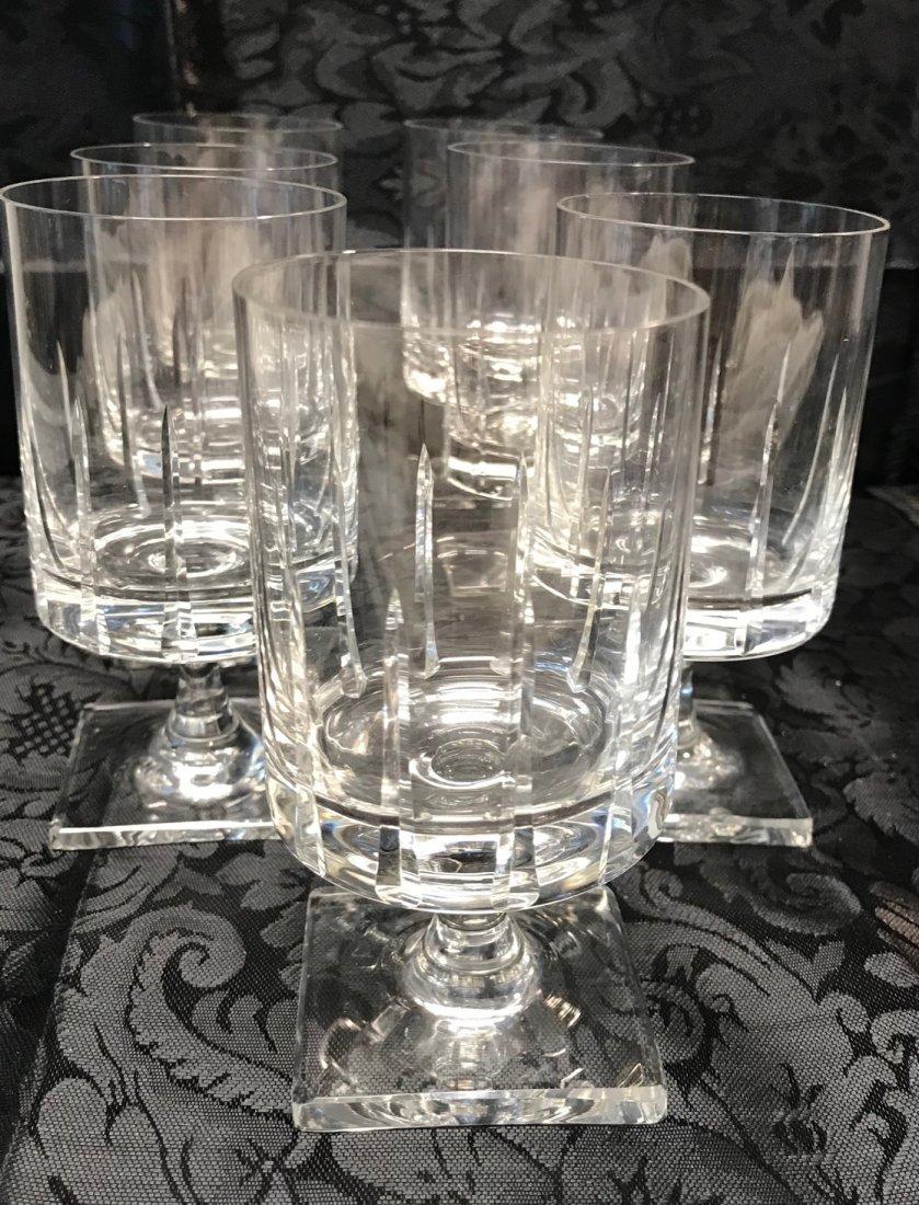 7 Bavaria lead crystal  Sherry Glasses - 2
