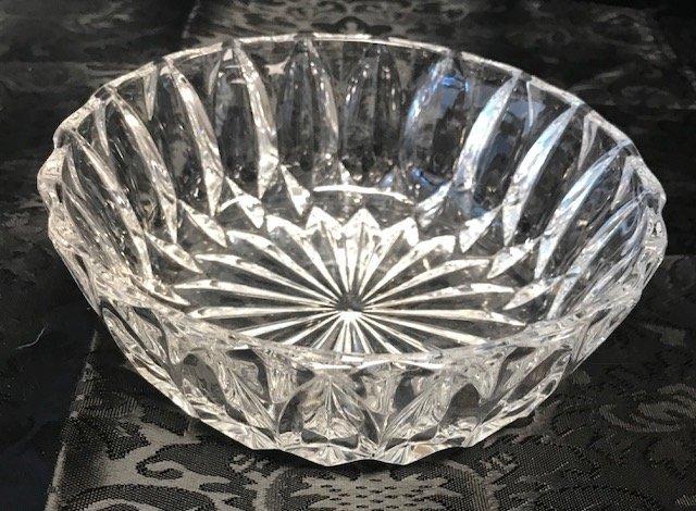 American Brilliant Style German lead crystal Dish