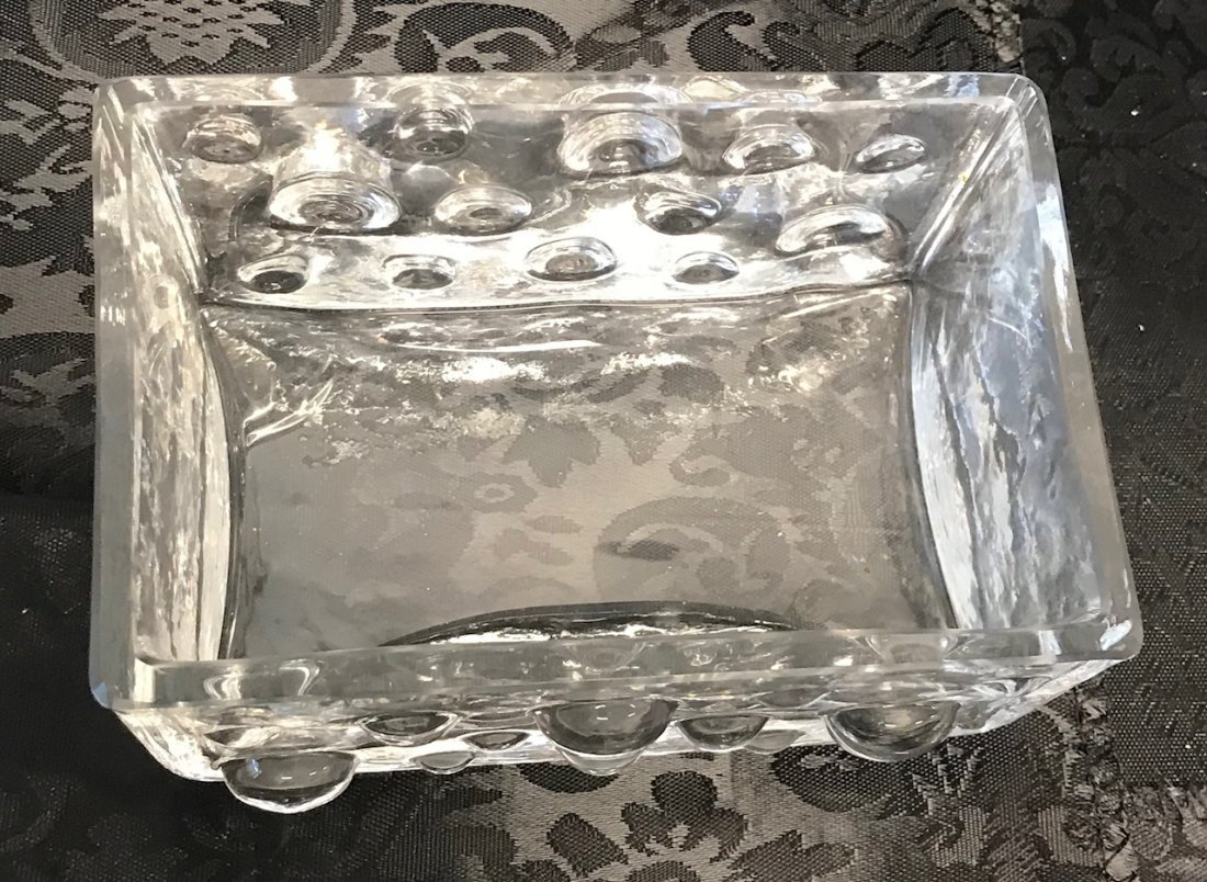 German rectangle Glass Crystal Block Shape - 2