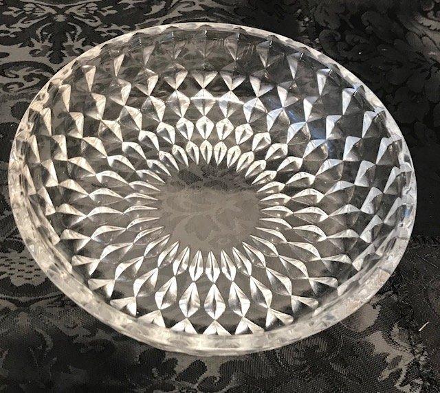 Bavaria German lead crystal Dish