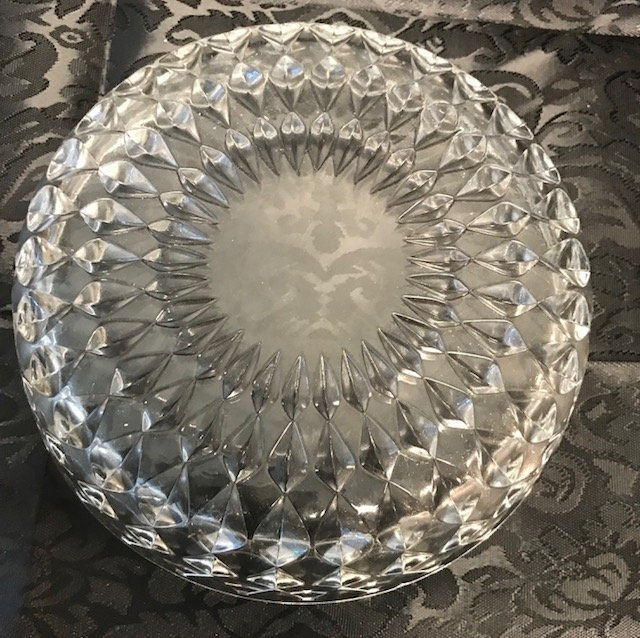 Bavaria German lead crystal Dish - 5