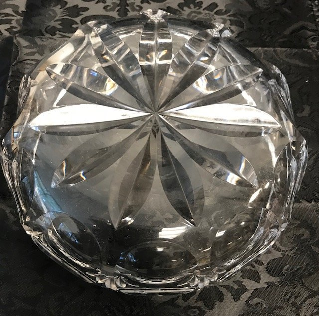 BAVARIAN German Crystal Candy Dish - 2