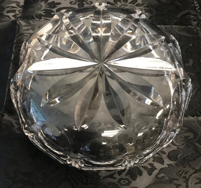 BAVARIAN German Crystal Candy Dish - 3