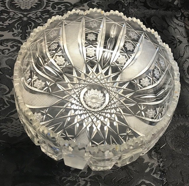 BLEIKRISTALL German lead crystal Candy Bowl - 2