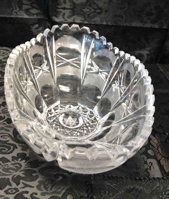 BLEIKRISTALL German Heavy crystal oval crystal Dish