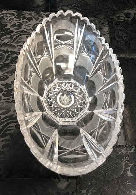 BLEIKRISTALL German Heavy crystal oval crystal Dish - 2