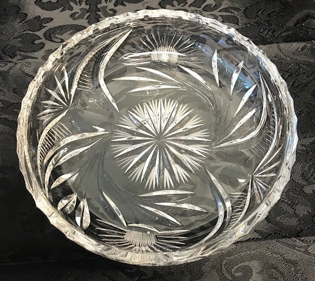 Bavaria German Robust Lead crystal dish - 2