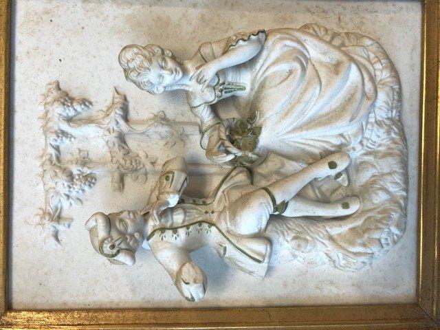 Dresden Alt Meissen-Dresden Plaque Figurine - 2