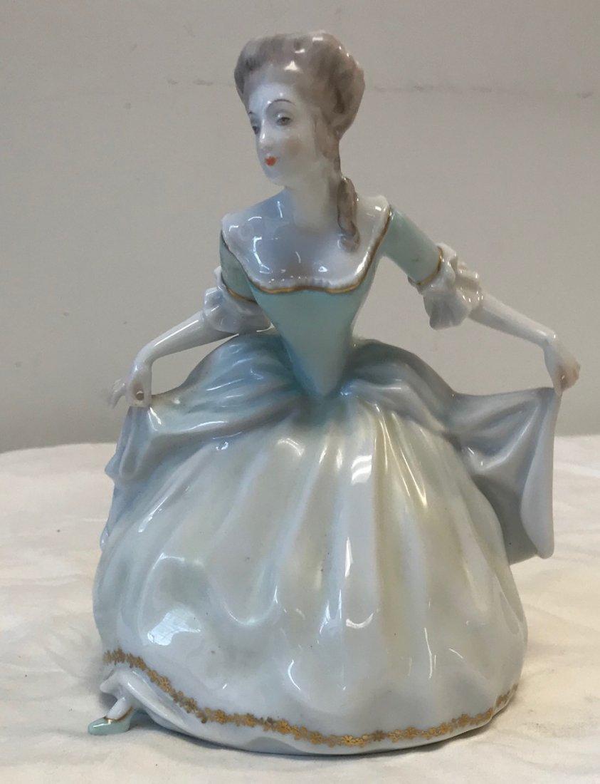 Rosenthal Handgemalt Dancing Lady Figurine