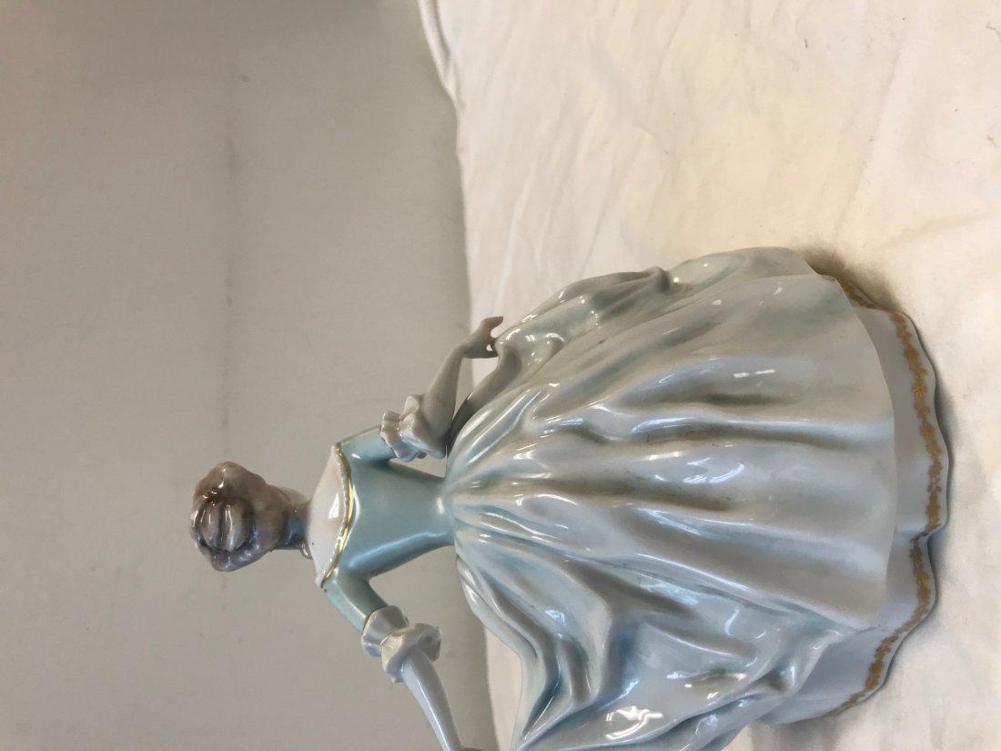 Rosenthal Handgemalt Dancing Lady Figurine - 2