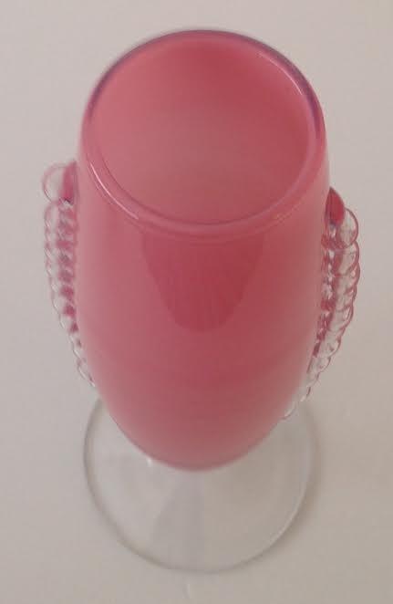 ELEGANT COCKTAIL GLASS GOBLET MURANO STYLE - 3
