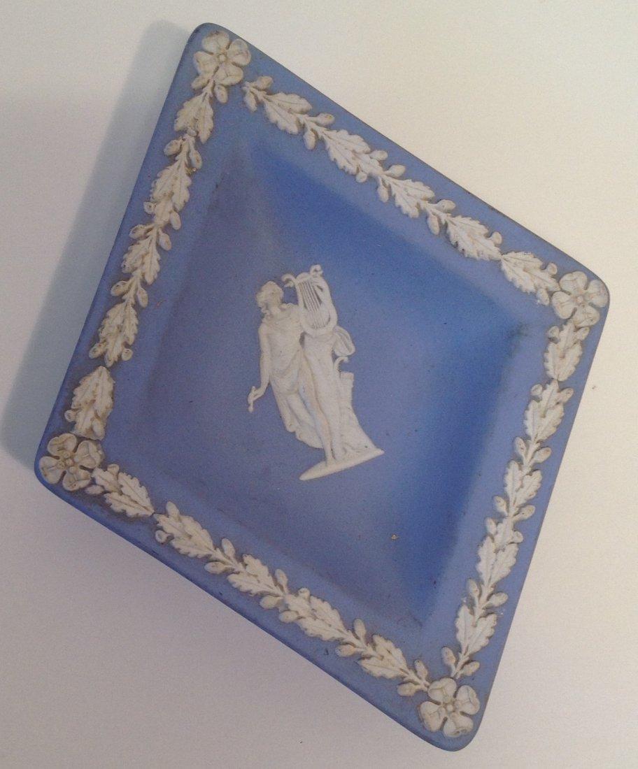 Vintage 1967 Diamond Shape Jasperware Wedgewood - 2
