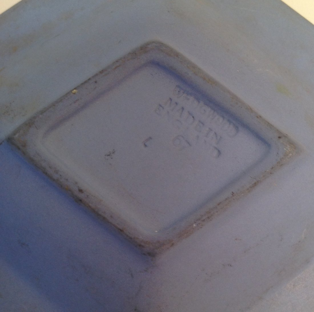 Vintage 1967 Diamond Shape Jasperware Wedgewood - 5