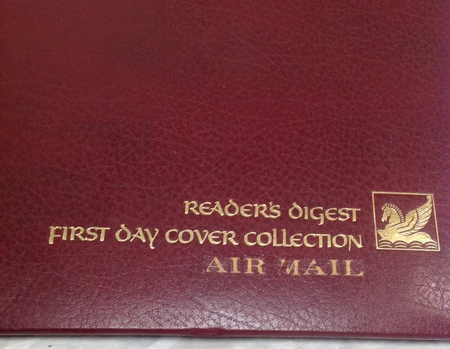 Readers Digest Air Mail First Day Cover - 2