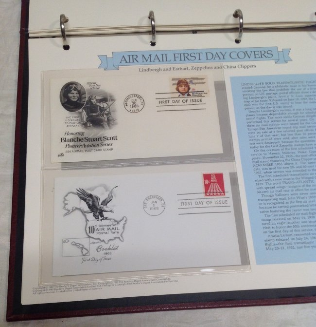 Readers Digest Air Mail First Day Cover - 4
