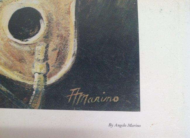 Angelo Marino Joe Namath Lithograph - 4