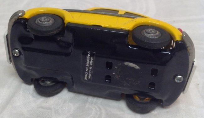 Vintage Yellow Volkswagen Toy Car - 4