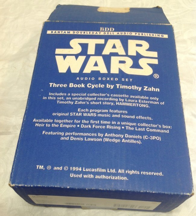 Timothy Zahn Star Wars Audio Tapes