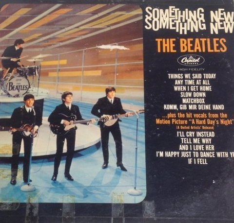 Beatles Something New