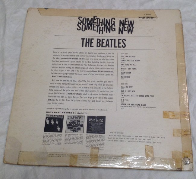 Beatles Something New - 2
