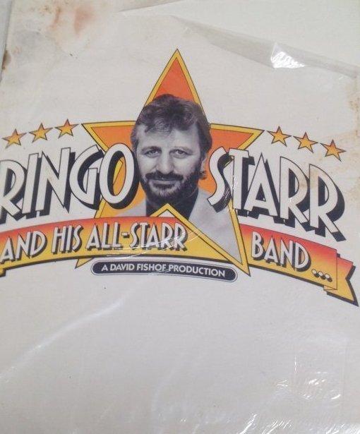 Vintage Ringo Star /Band Tour Magazine