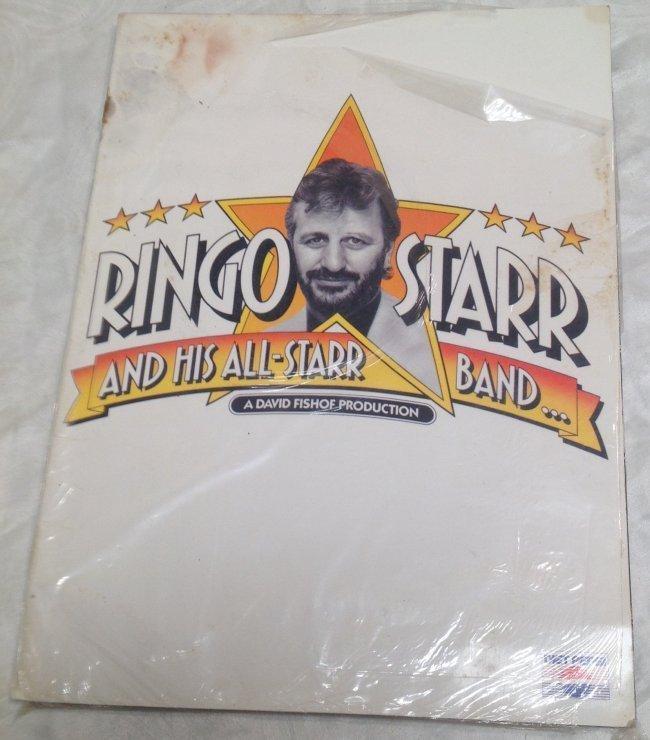 Vintage Ringo Star /Band Tour Magazine - 3