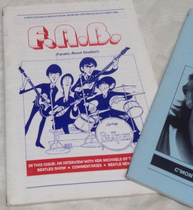 Vintage Beatles FAB Magazine - 2