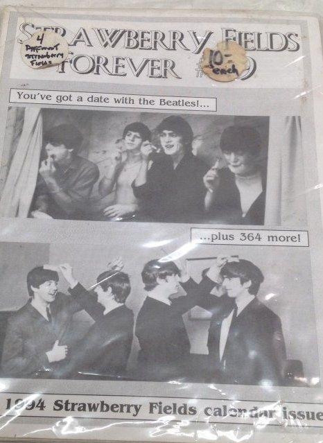 Vintage Beatles Fan Club Magazines