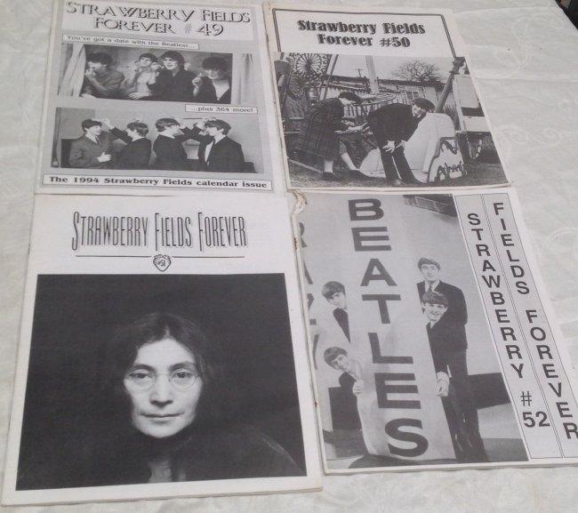 Vintage Beatles Fan Club Magazines - 2
