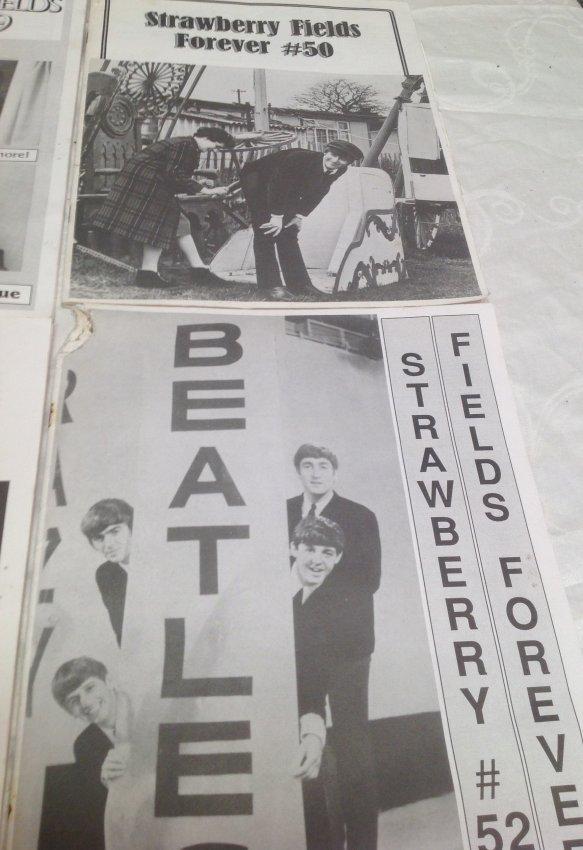 Vintage Beatles Fan Club Magazines - 4