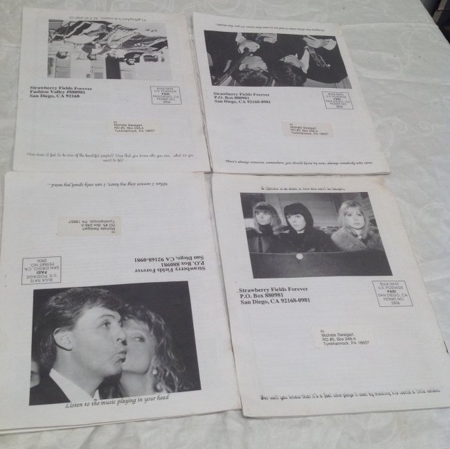 Vintage Beatles Fan Club Magazines - 5
