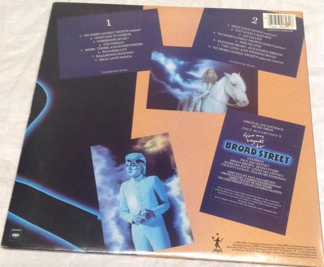 Paul Mccartney Regards to Broad Street Album - 2