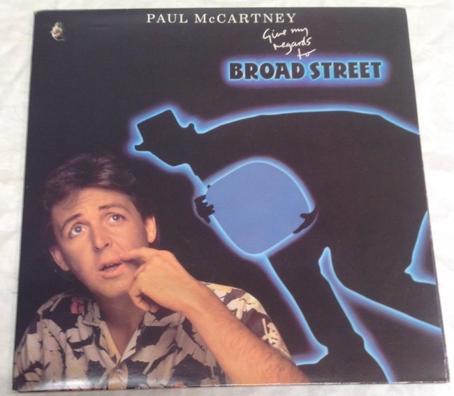 Paul Mccartney Regards to Broad Street Album - 5