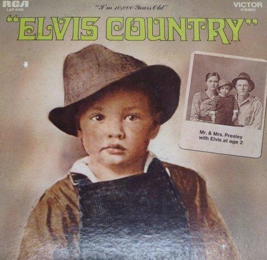 Vintage Elvis Country Album