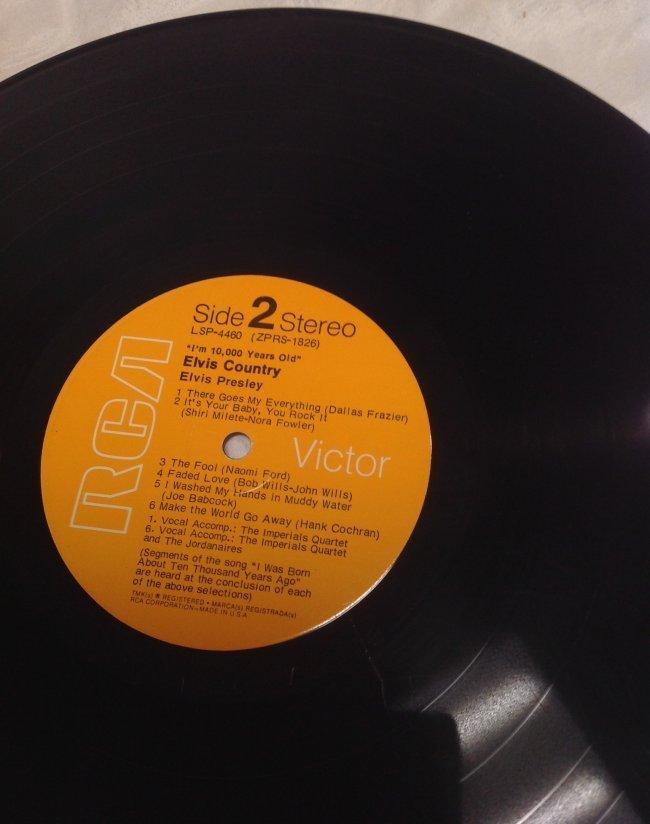 Vintage Elvis Country Album - 5